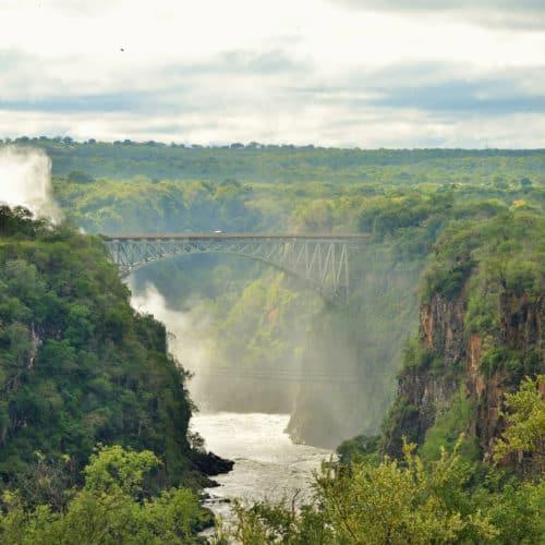Victoria Falls Hotel - falls-view