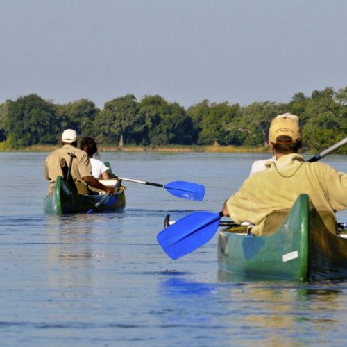 Zambezi River Canoeing
